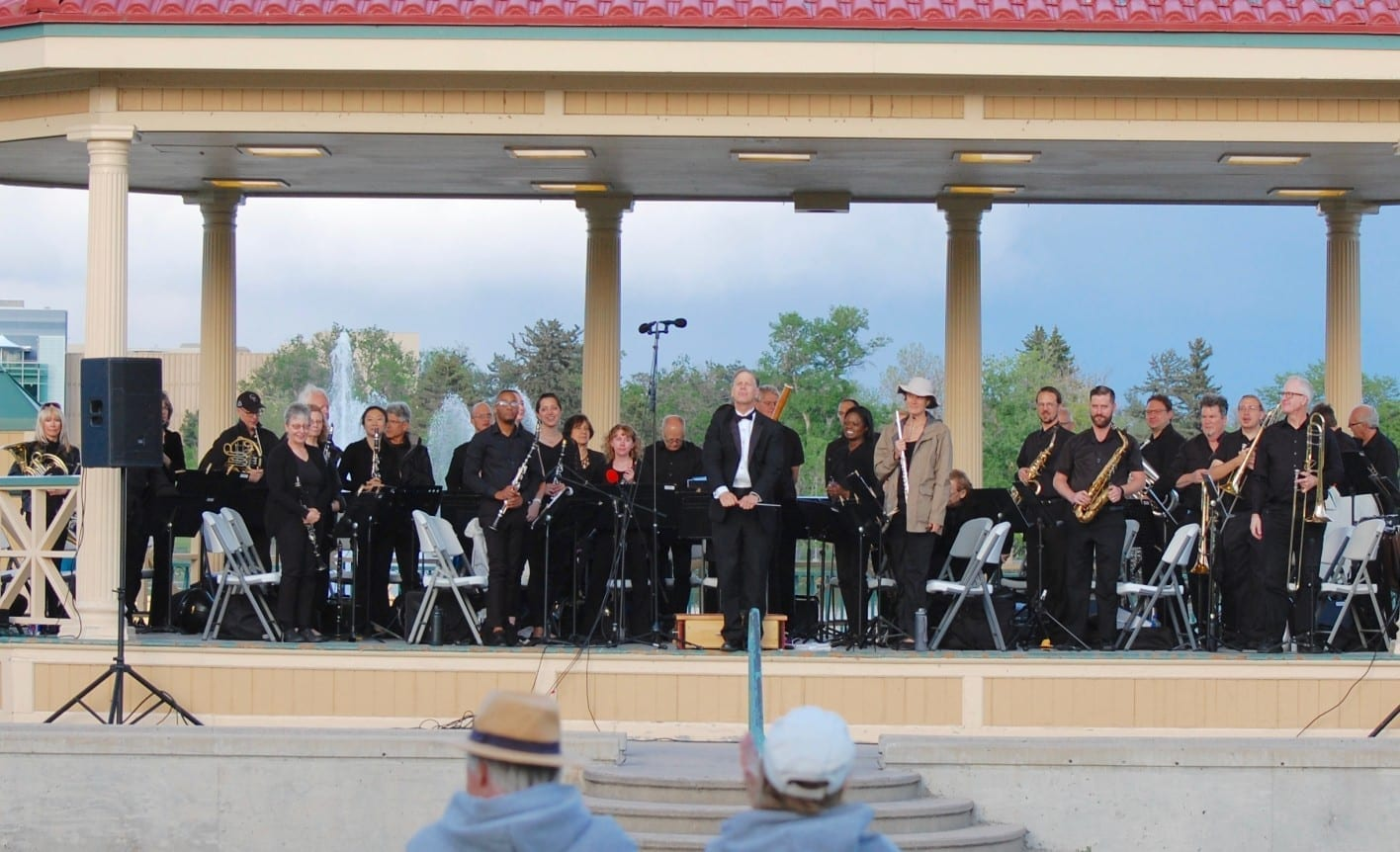 denver municipal band at city park